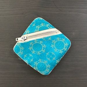 Vintage jewelry zippered pouch